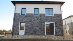 Облицовка фасадов клинкерной плиткой (гранитом, керамогранитом)