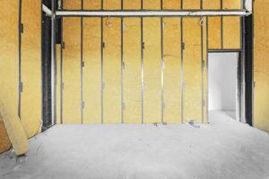 Шумоизоляция и утепление стен