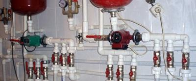 Устройство водопроводных выводов