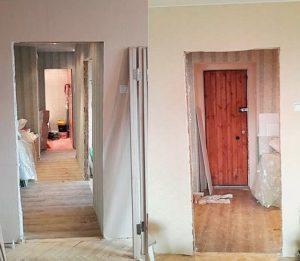 Демонтаж дверных блоков
