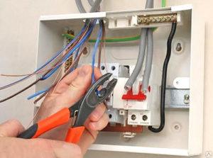 Подключение TV и телефонных линий к линиям в щите