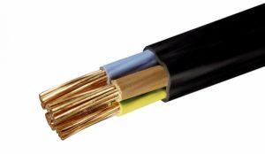Укладка силового провода